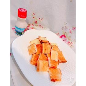 7分で完成★余った食パンでシュガーラスク