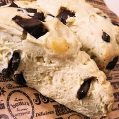 チョコとクリームチーズのスコーン
