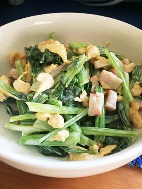 小松菜サラダ