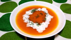 かぼちゃみそスープ