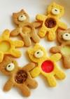 柴犬のステンドグラスクッキー