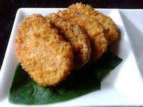 88円の魚肉ハムが豪華に変身☆ハムカツ♪