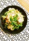 豚しゃぶと豆苗もやしの作り置きサラダ
