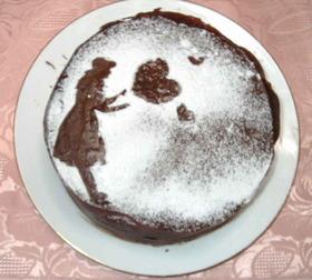 バレンタインに チョコレートケーキ