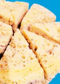 レンジで簡単☆甜茶スフレチーズケーキ
