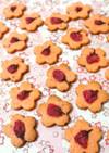 ほんのり塩気が美味しい♪桜クッキー♪