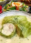 鶏肉と高野豆腐のロールキャベツ