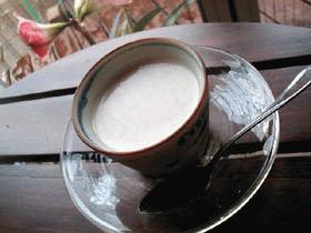 白ゴマのミルクプリン
