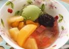 フルーツあんみつ(豆なし)