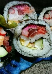 具だくさん♥にぎやか巻き寿司