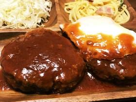 簡単☆美味☆デミグラス風煮込みハンバーグ