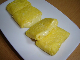 とろ~りチーズ☆卵焼き