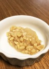 【離乳食中期〜】レンジで納豆みぞれ煮