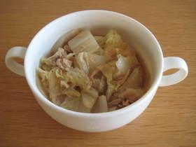 水なし簡単!白菜とツナの煮物