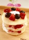 1歳の誕生日にも◇ヨーグルトで簡単ケーキ