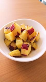 絶品!簡単!サツマイモの塩バターの写真