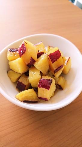 絶品!簡単!サツマイモの塩バター