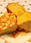りんご煮アーモンドケーキ