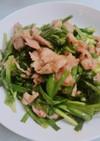 合わせ調味料で簡単!豚肉とニラの中華炒め