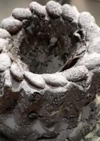 ココア×チョコクグロフ(ストレート酵母)