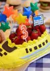 バースデーケーキ 3歳 覚書
