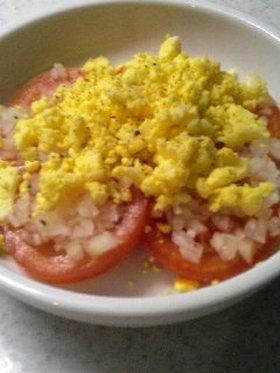 ☆トマトのミモザ風サラダ☆
