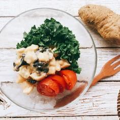 子宝芋のポテトサラダ