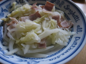 白菜のさっぱり焼き