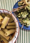 とう蕗の煮物と天ぷら