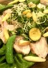 炊飯器で簡単シリーズ♡蒸し塩豚サラダ