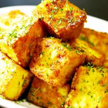無限厚揚げ★カレーチーズ焼き。お弁当にも