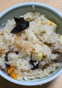 中華風タケノコご飯
