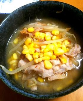 味噌ラーメン風スープ