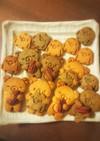 紅茶と竹炭のココナッツシュガークッキー