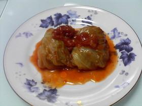 洋と中の融合☆ロールキャベツ☆トマト煮