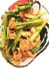簡単!小松菜と肉炒め 節約おかずにも