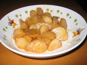 長芋のバター煮