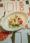 離乳食(中期・後期)きゅうりトマトサラダ