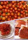 完熟トマトorミニトマトでトマトペースト