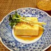 豆腐ステーキ☆ごま味噌和風だれの写真