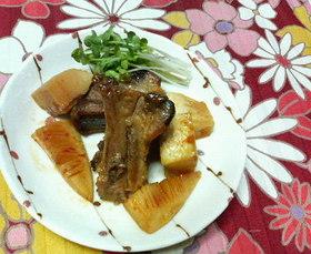 スペアリブと筍の✿中華風❀さっぱり焼き✿