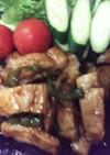 豚ロース焼き肉のたれソテー
