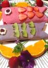 子供の日のスイーツ☆鯉のぼりのクレープ