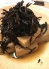 水戻し不要、高野豆腐とひじきの煮物