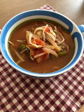 意外♡切干大根の食べるトマトスープ