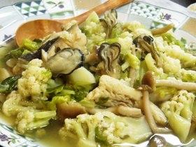 牡蠣の春野菜煮こみ