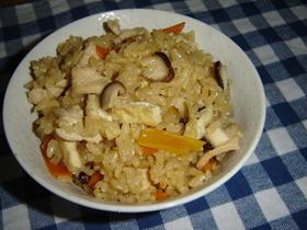鶏五目☆炊き込みご飯