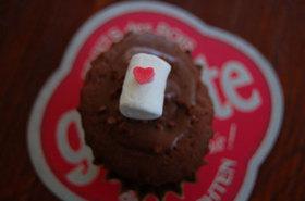 かわいい!バレンタイン・カップケーキ