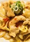 鶏肉&キャベツ炒め☆スイートチリソース添