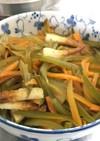 旬の茎わかめの煮物